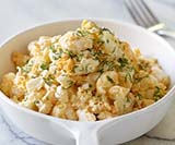 Creamy Smashed Egg Salad