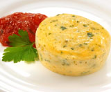 Fetta and Spinach Egg Bake Snack